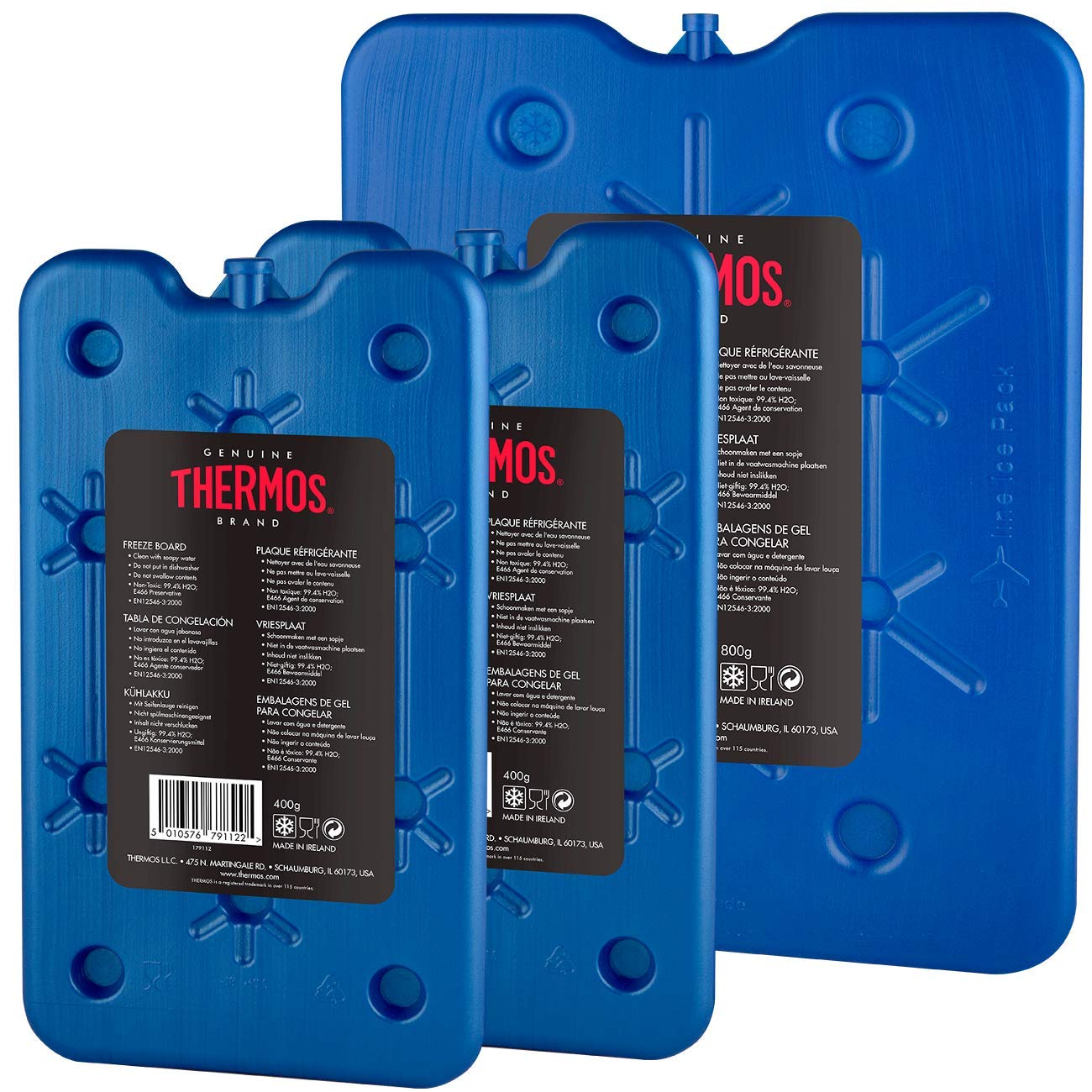 Thermos Freeze Boards,  Pack of 3