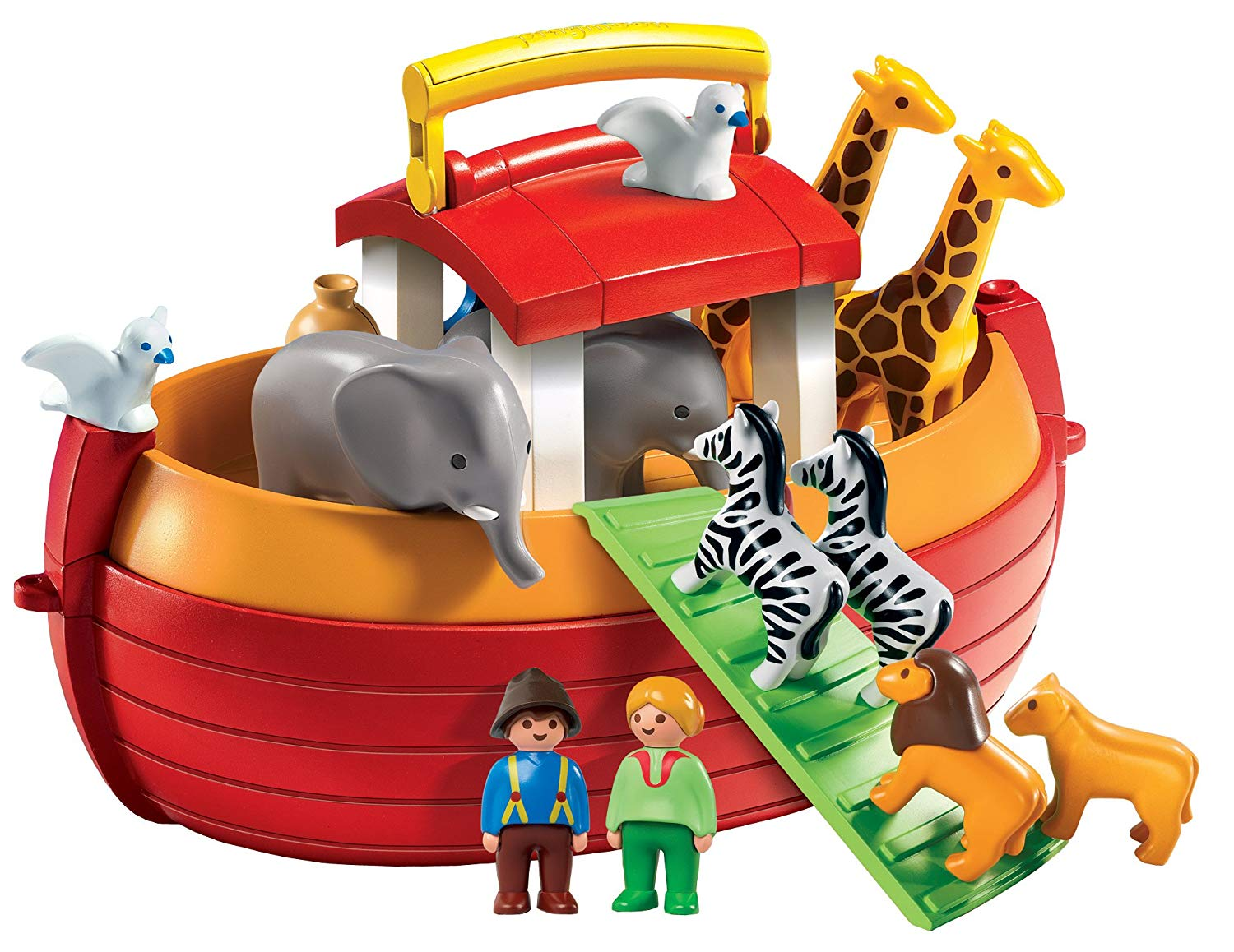 Playmobil 1.2.3 Floating Take Along Noah´s Ark
