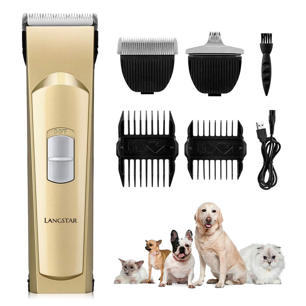LANGSTAR 2019 Upgrade Dog Grooming Clippers