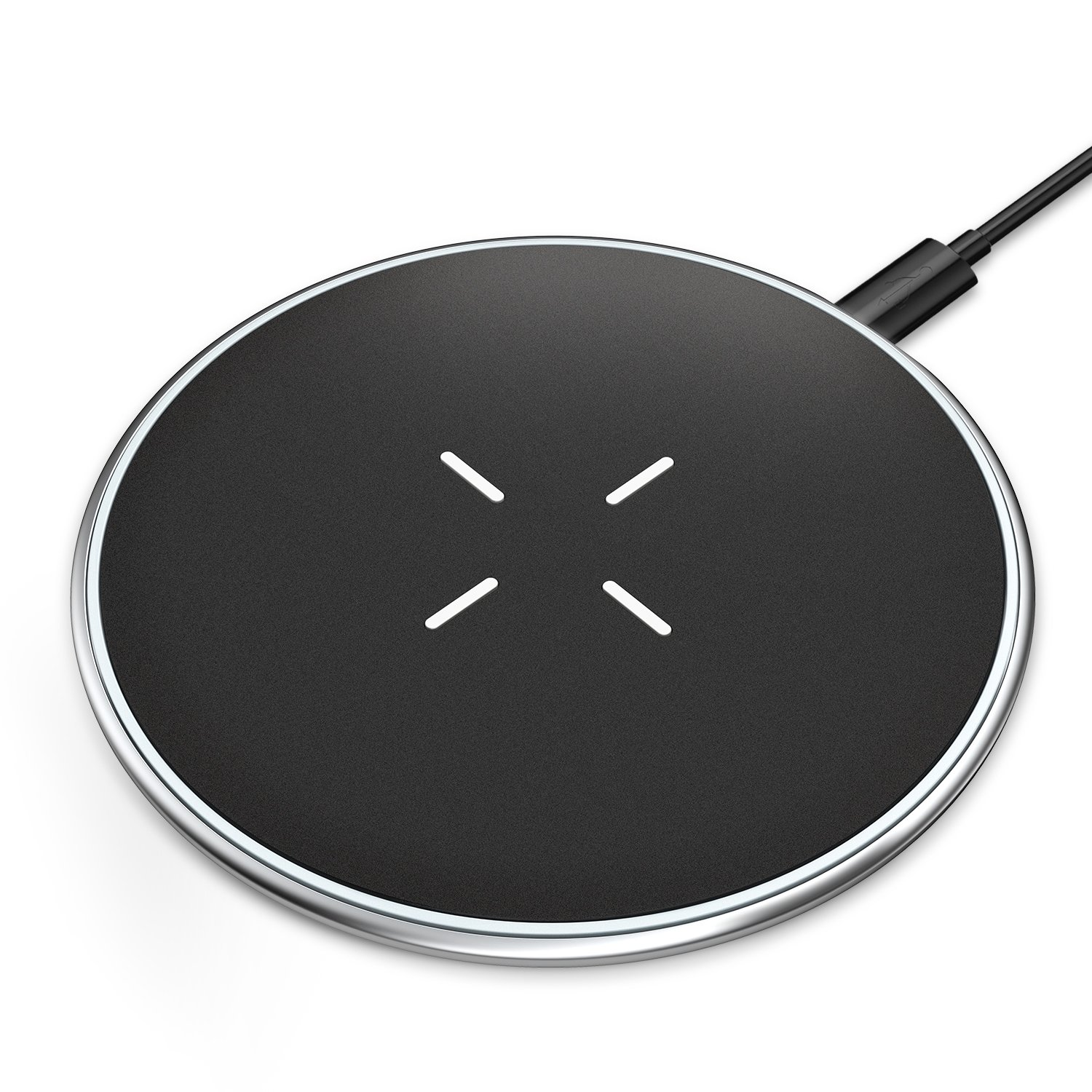 Wireless Charger,10W Qi Fast Ultra-slim Wireless Charging Pad