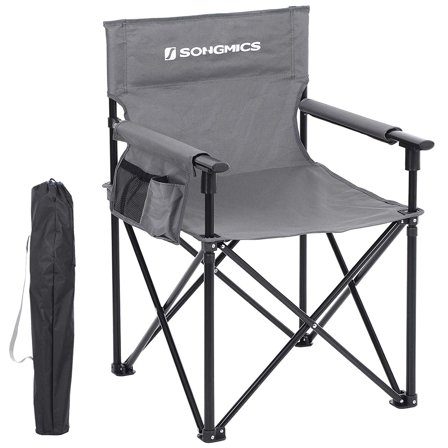 SONGMICS Camping Chair, Foldable Outdoor Chair