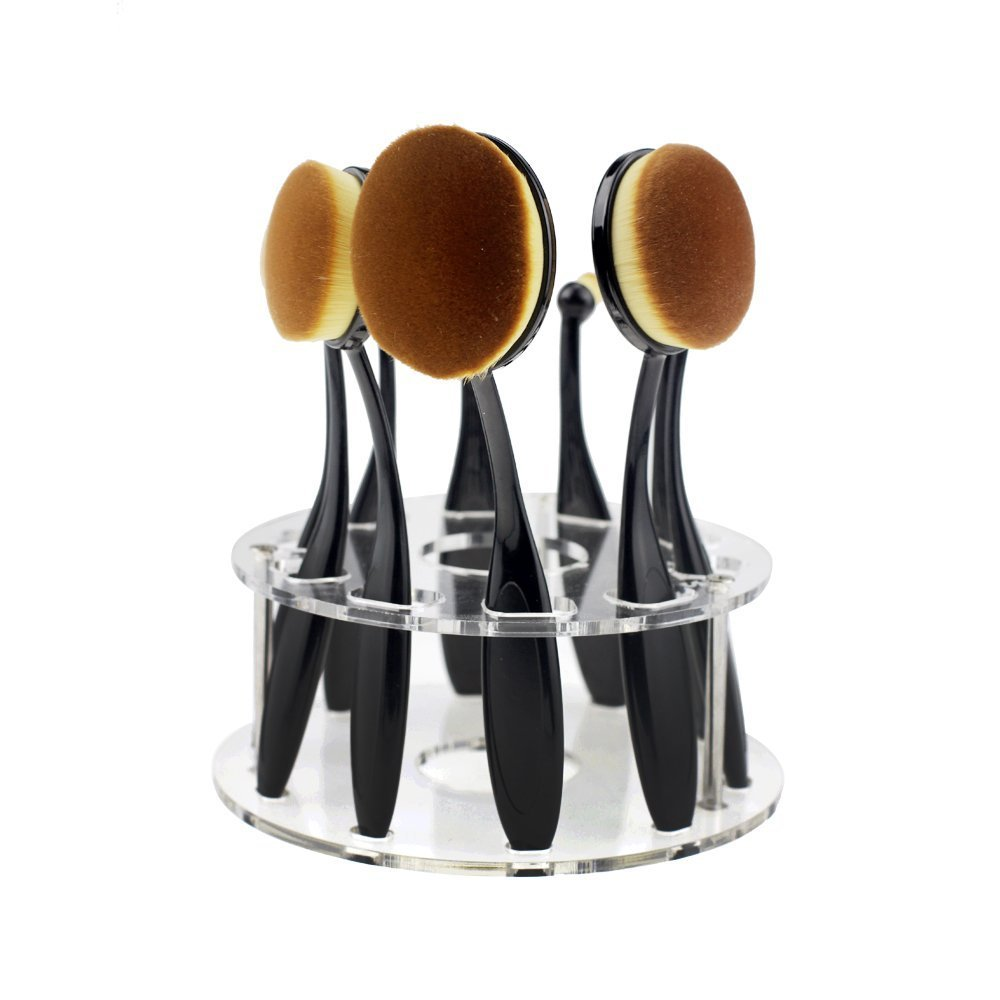 10 Pcs Toothbrush Makeup Brush Sets