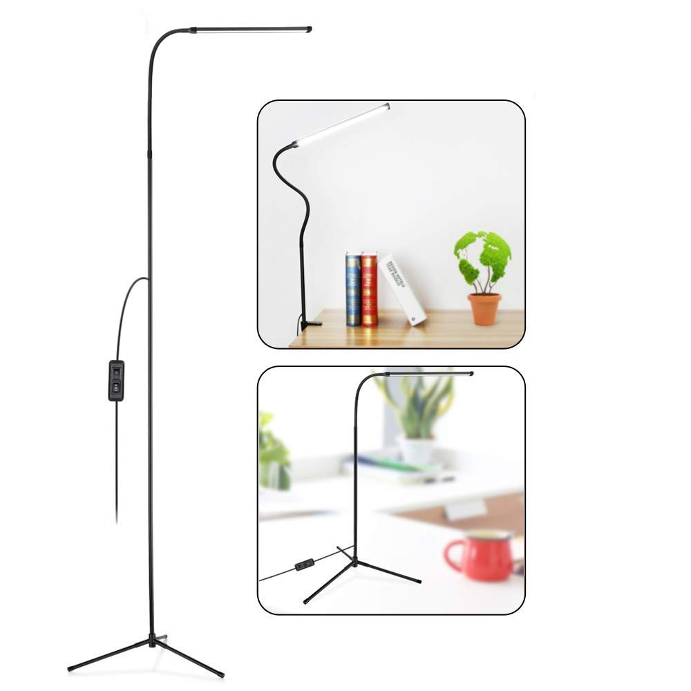 3-in-1 Floor Lamp LED Eye-Care Standing Lamp Remote Control
