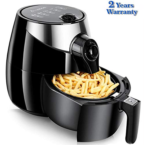 Air Fryer,Aobosi Healthy Fryer with Detachable Dishwasher Safe Basket, Free Recipe,3.5L Pan with 2.5L Basket