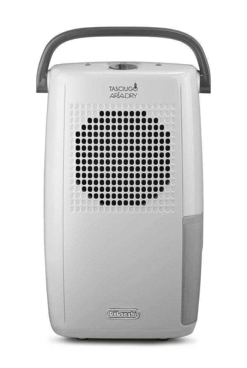 De'Longhi Tasciugo AriaDry DX10.WGY Dehumidifier, 2 liters