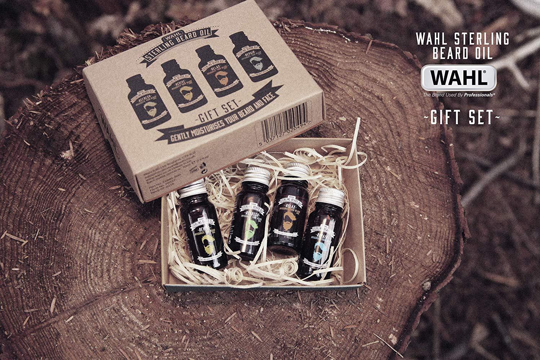 Wahl Beard Oil Gift Set, 4 x 10 ml