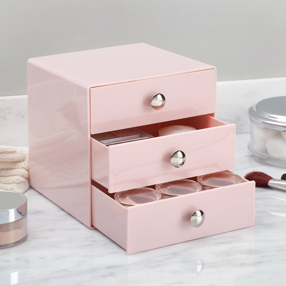 iDesign Makeup Organiser with Three Drawers