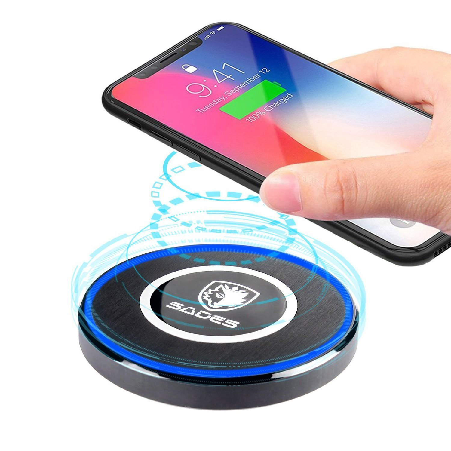 Magiclux tech SADES Fast Wireless Charger Base