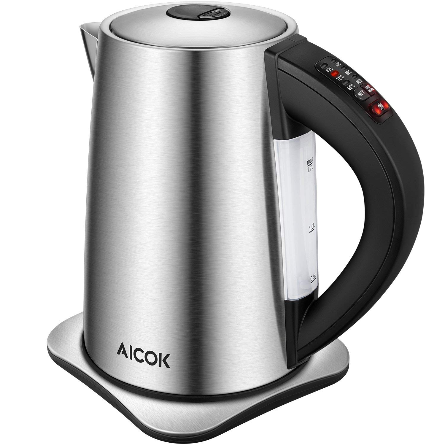 Electric Kettle Temperature Control 3000W Fast Boil Kettle