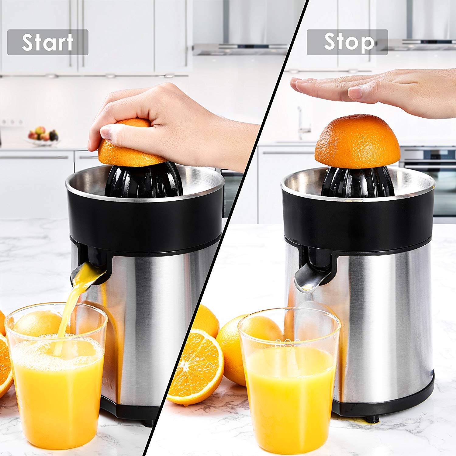 Aicok Citrus Juicer Electric Orange Juicer
