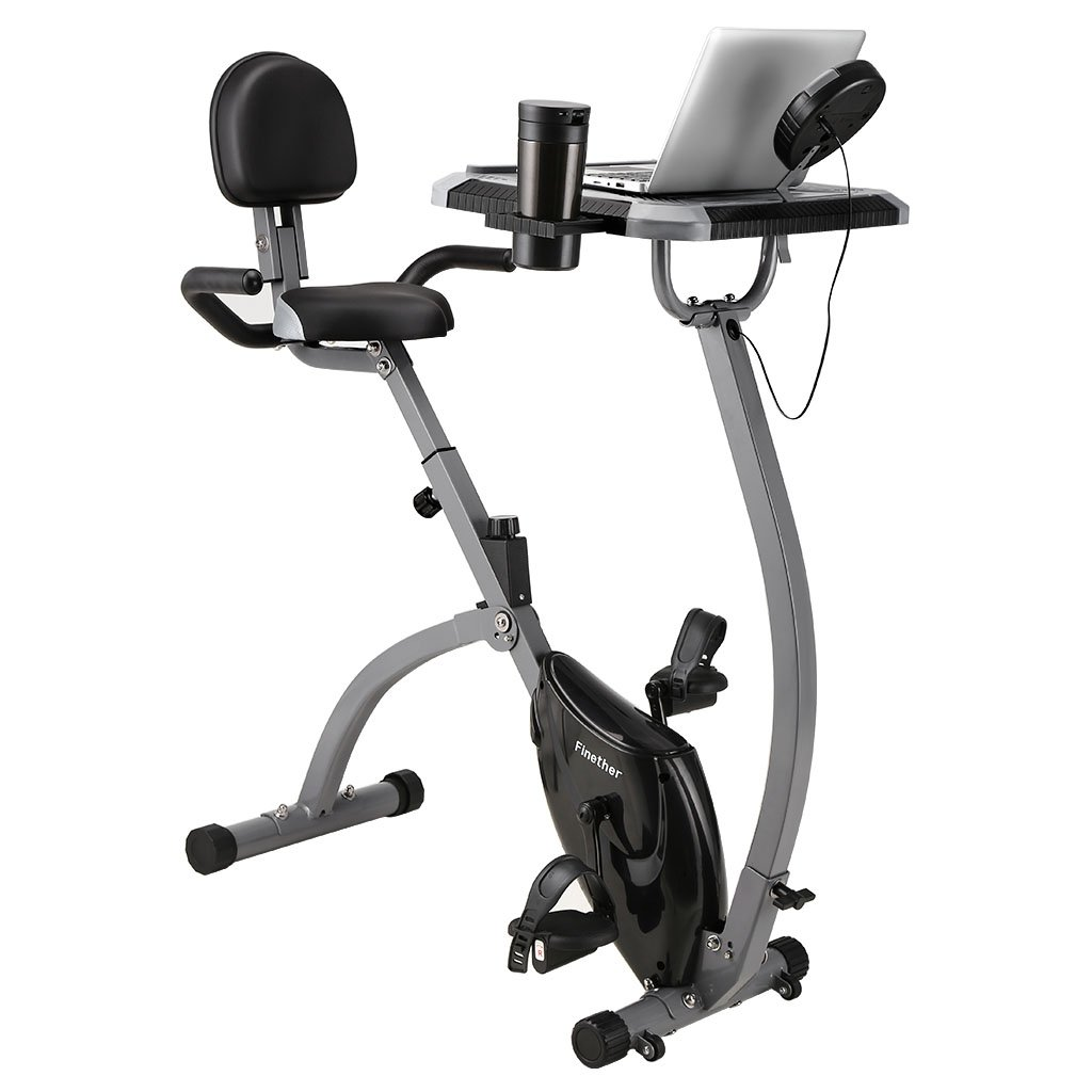 Finether Fitness Bike Exercise Bike Home Trainer Home Exercise Equipment