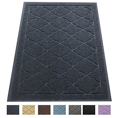 Easyology Premium Cat Litter Mat – XL Super Size (60 x 90 cm) – for Cats Tracking Litter Out of Their Box