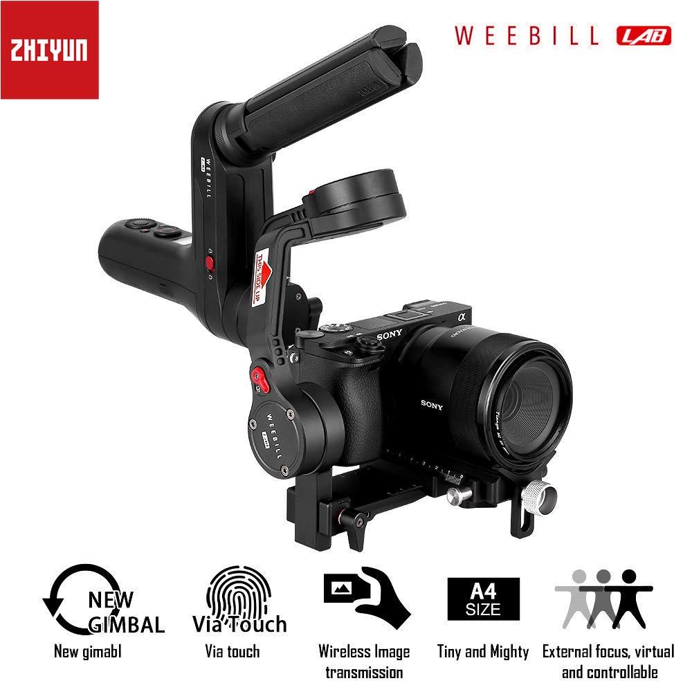 Zhiyun WEEBILL LAB 3-Axis Handheld Gimbal Stabilizer for Sony Canon Nikon Panasonic