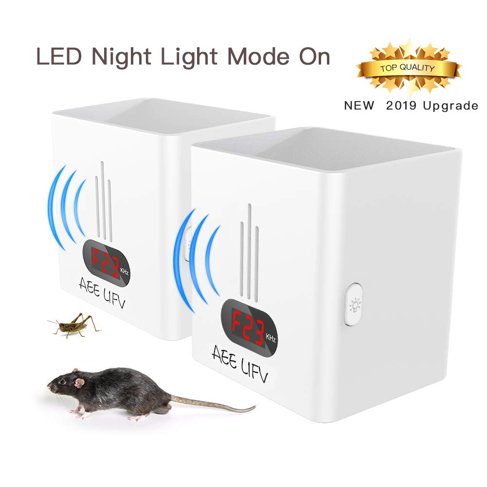 AEE LIFV Ultrasonic Pest Repeller-Electronic Mouse/Mice Plug In Pest Control Ultrasonic Repellent