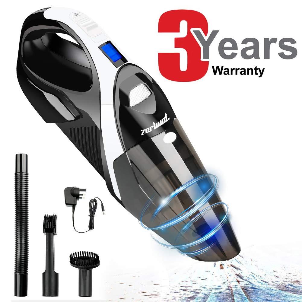 Zerhunt Cordless Vacuum Cleaner, 6000Pa Powerful Handheld Vacuums