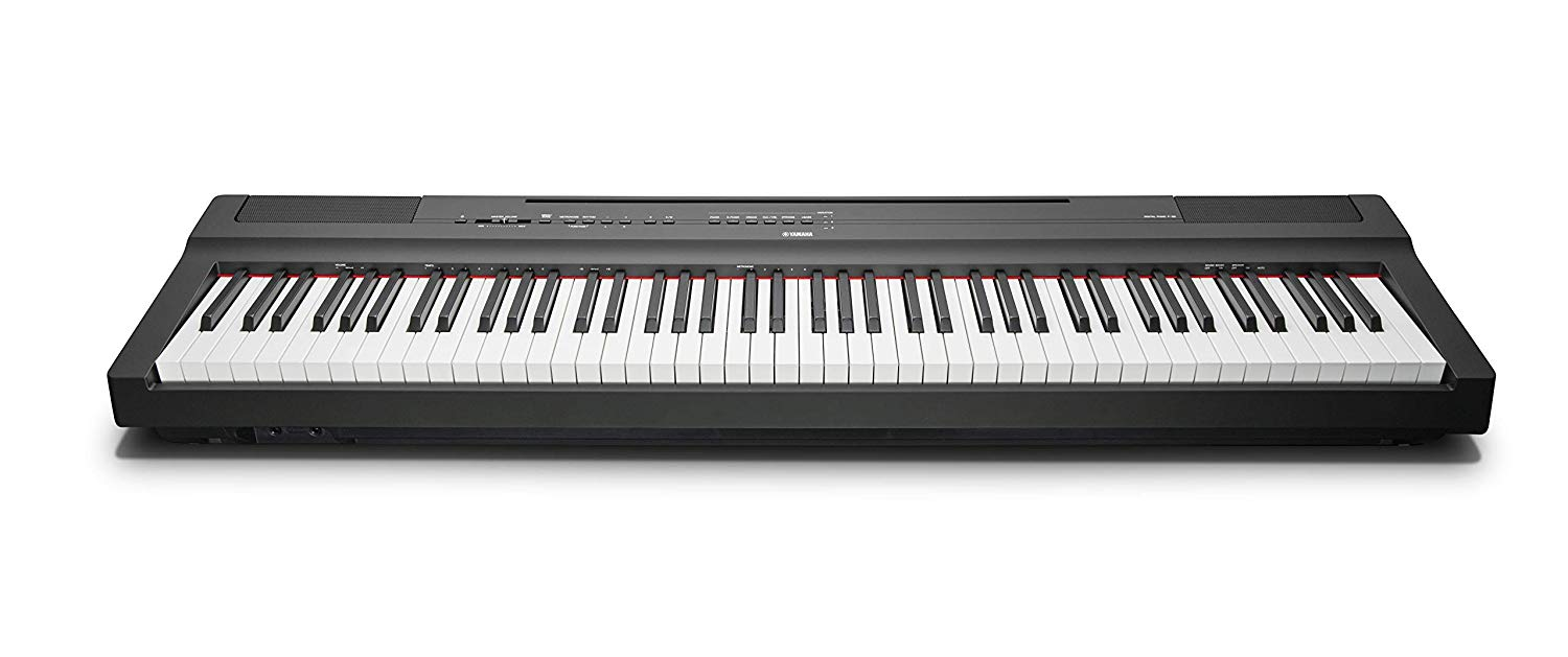 Yamaha P-125 Portable Digital Piano – Black
