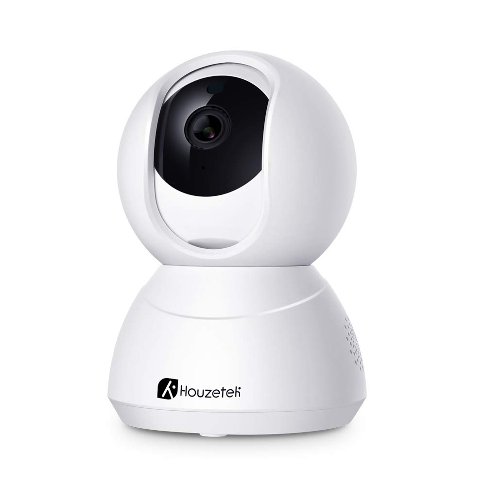 Houzetek Ip Camera Wireless 1080p Security Camera with 2-Way Audio Wifi Surveillance Camera