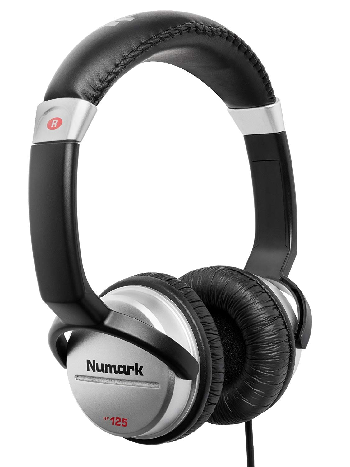 Ultra-Portable Professional DJ Headphones With 6ft Cable, 40 mm Drivers