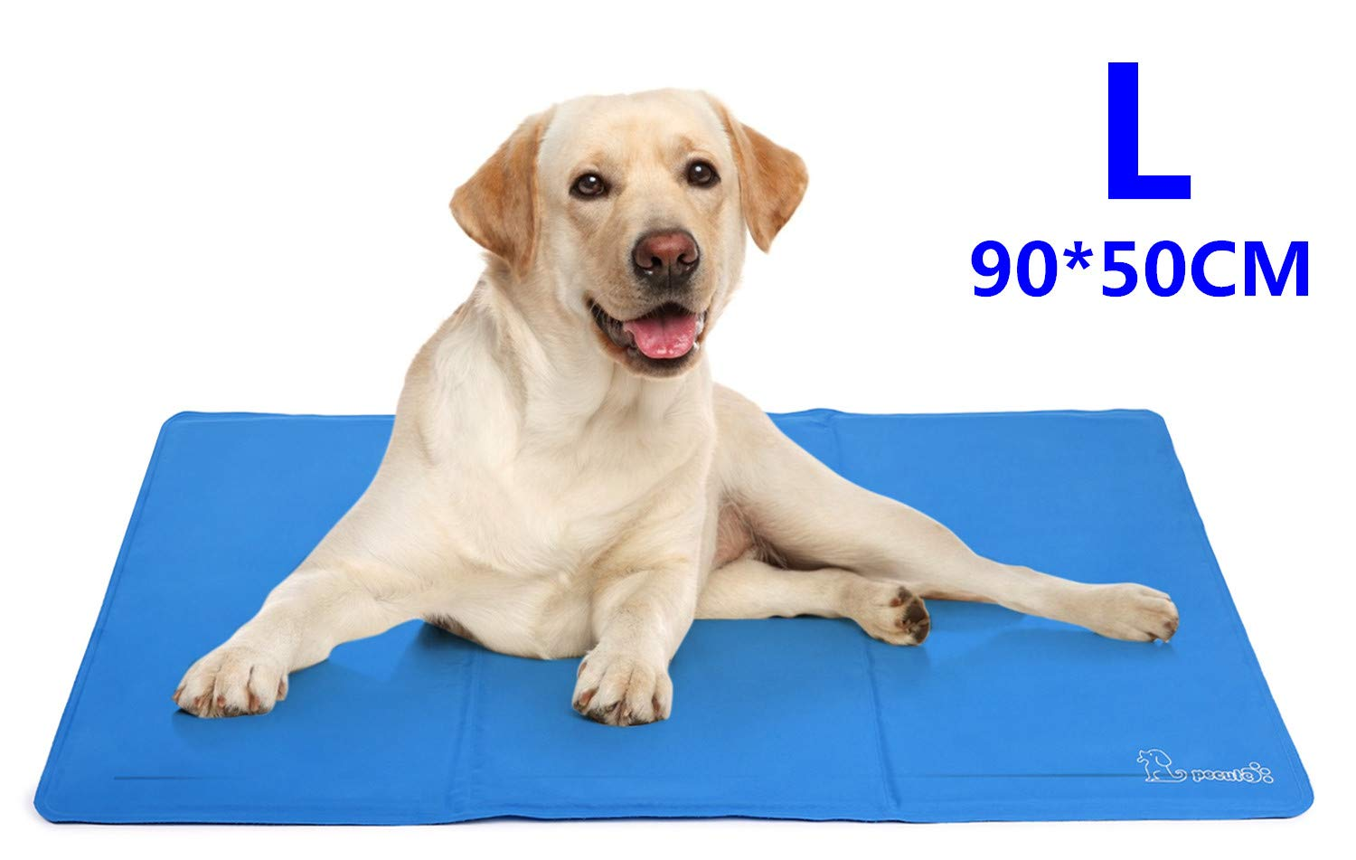 Pecute Dog Cooling Mat Large 90x50cm, Durable Pet Cool Mat
