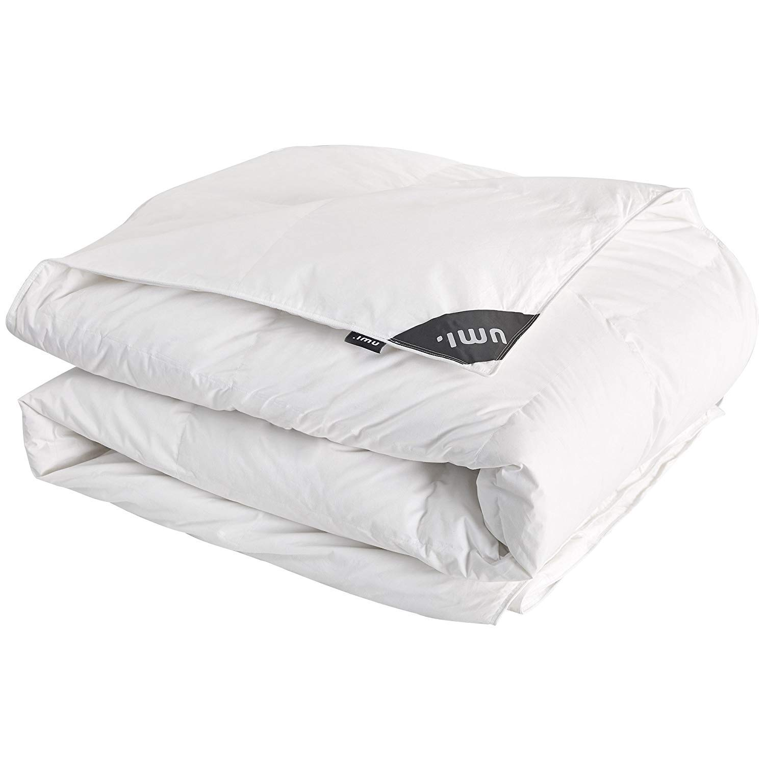 Umi. Essentials Luxury White Goose Feather and Down Extra Warmth Duvet, All Season ,10.5 Tog King Size 225x220cm
