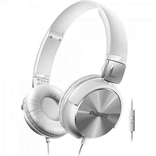 Philips On-Ear Headphones with Mic