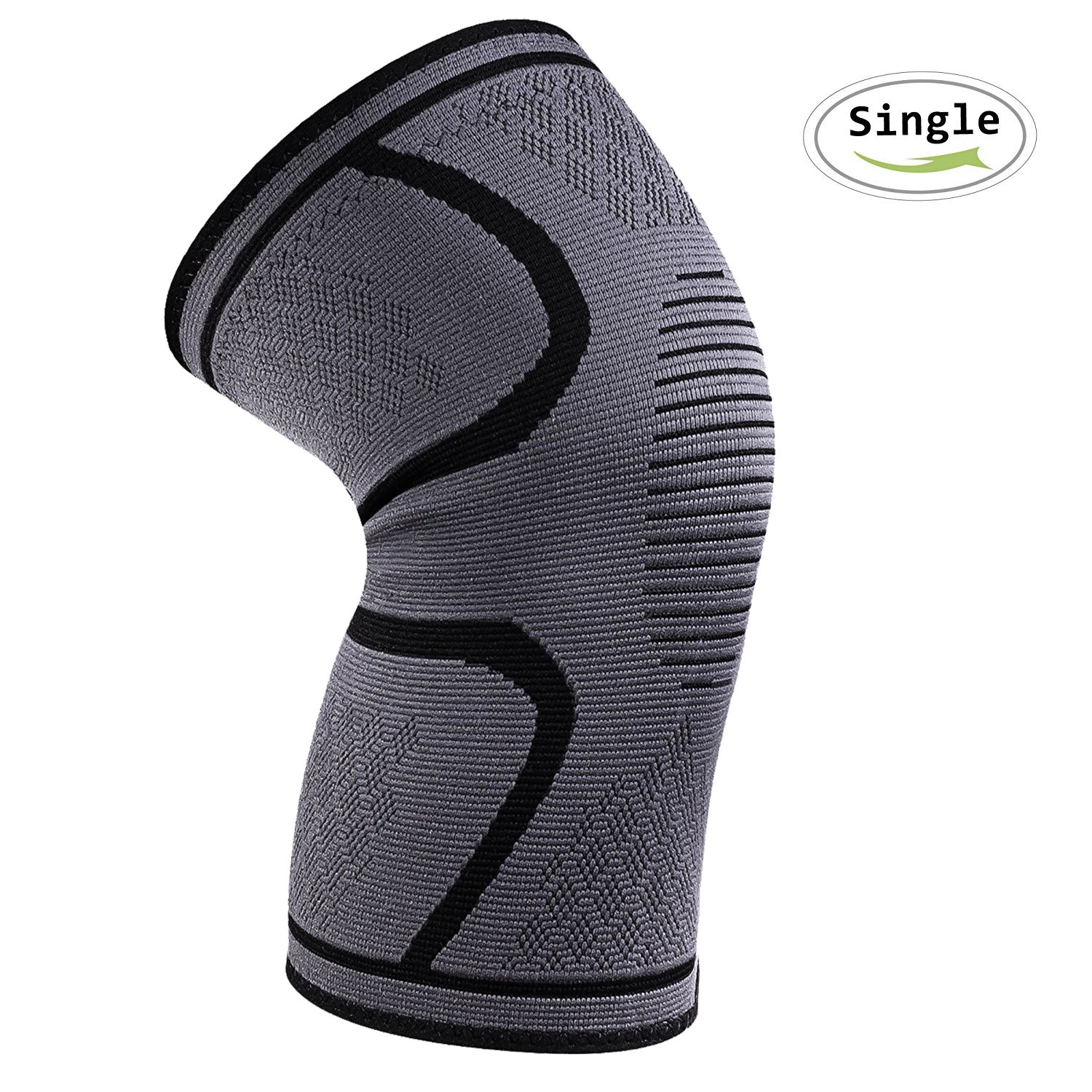 Knee Brace Support,iBuger Compression Knee Sleeve for Meniscus Tear