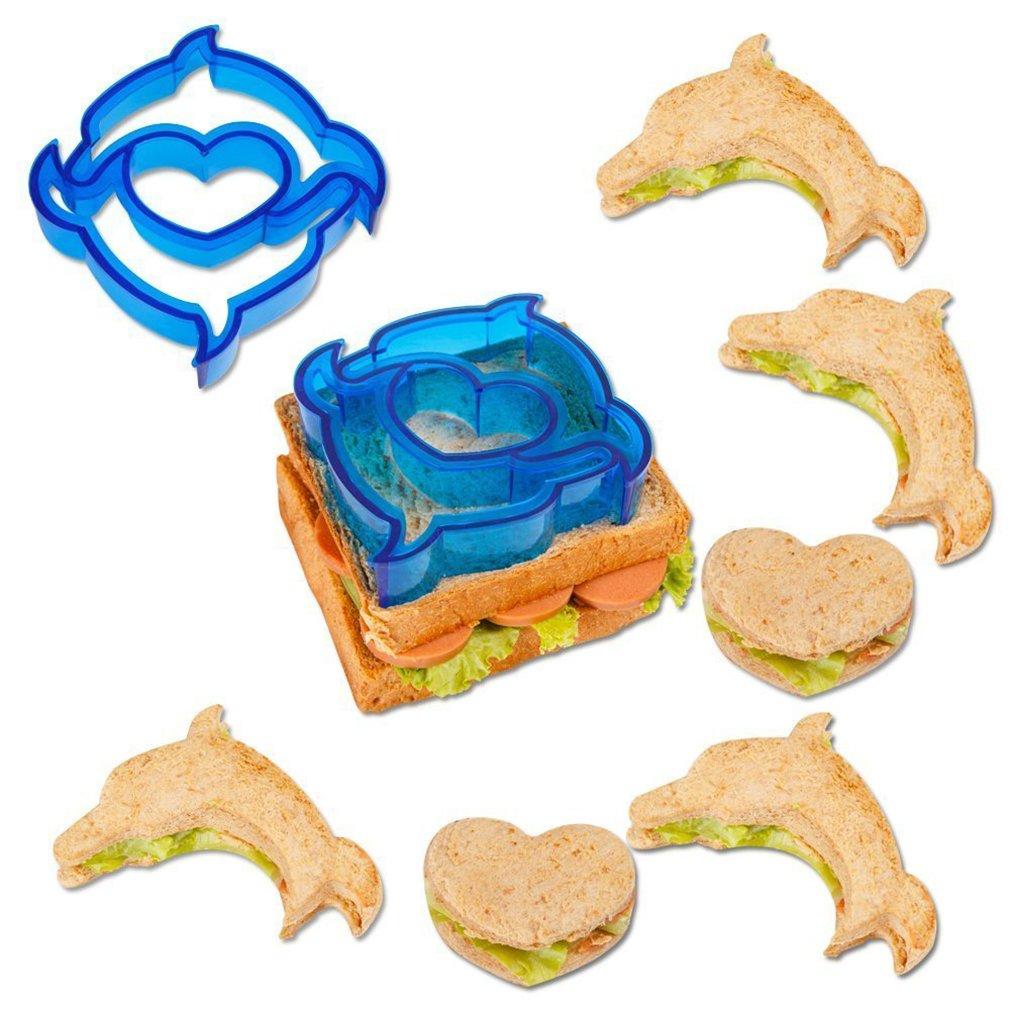 Lalang Children Sandwich Cutter, Cookie Cutter, Bread cutter Set