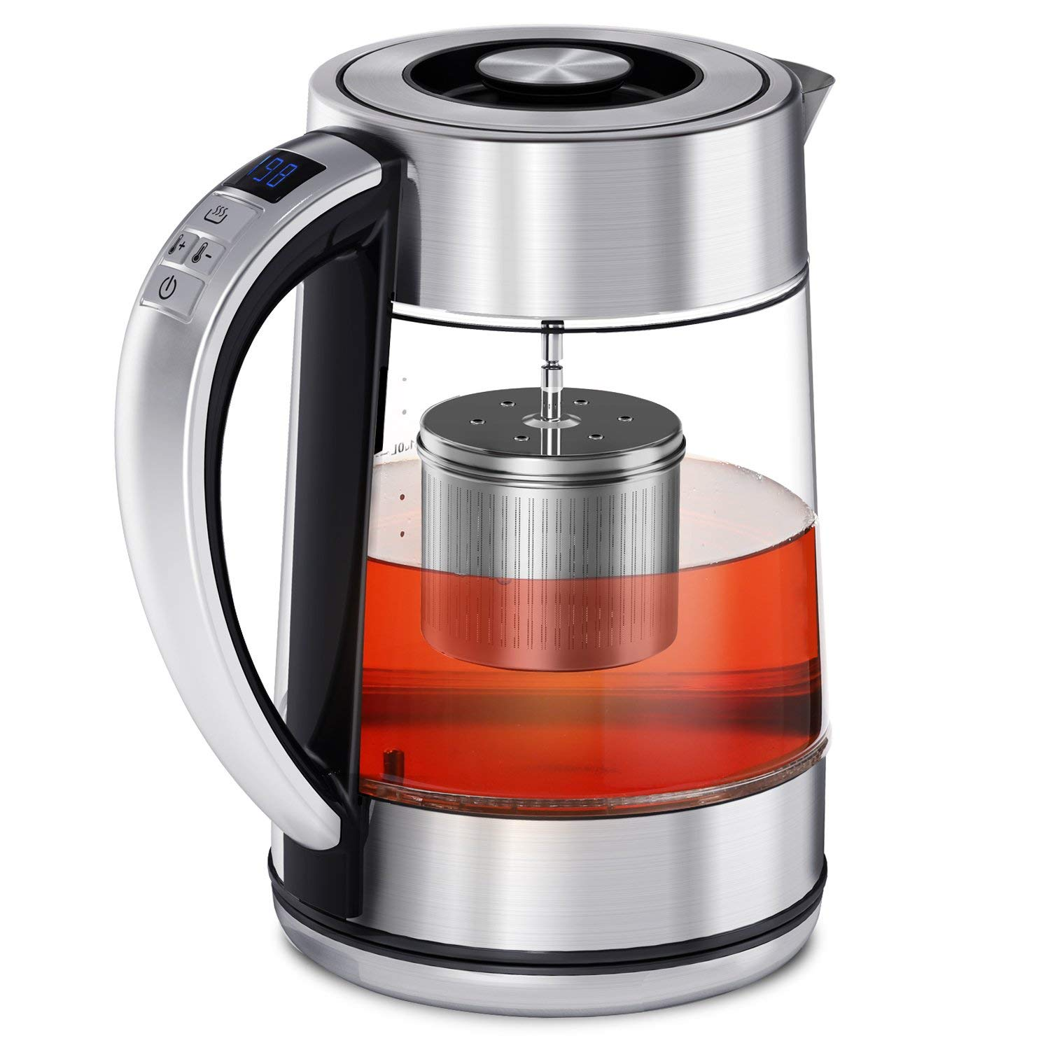 CISNO 2 in 1 Electric Tea Kettle with Temperature Control,