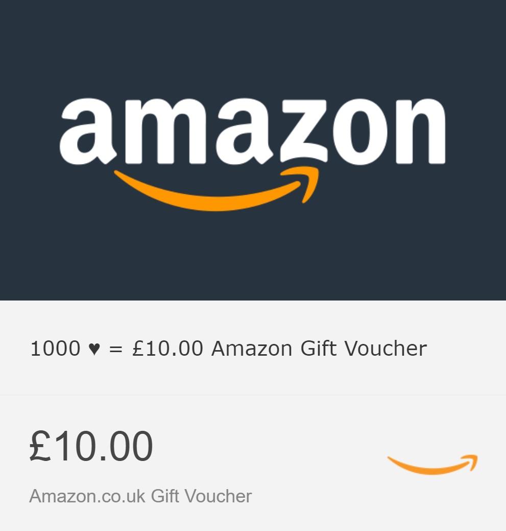 £10 Amazon.co.uk Gift Card