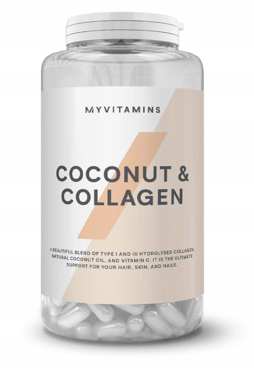 Coconut + Collagen (60 Capsules)