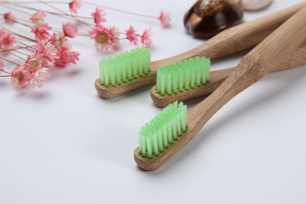 Free Sample Nature Eco-Friendly Biodegradable Wholesale Bamboo Toothbrush