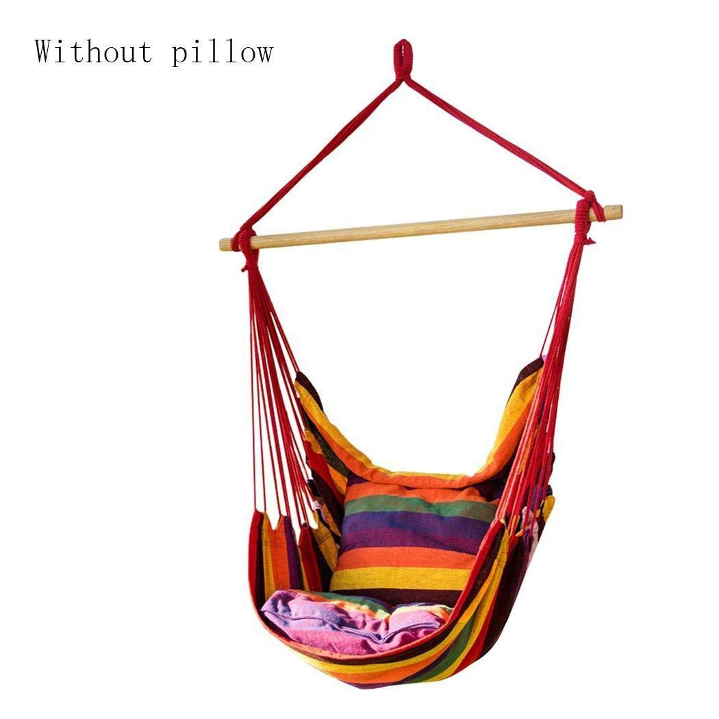 Canvas Swing Chair Hanging Rope 150Kg Weight Bearing Hammocks