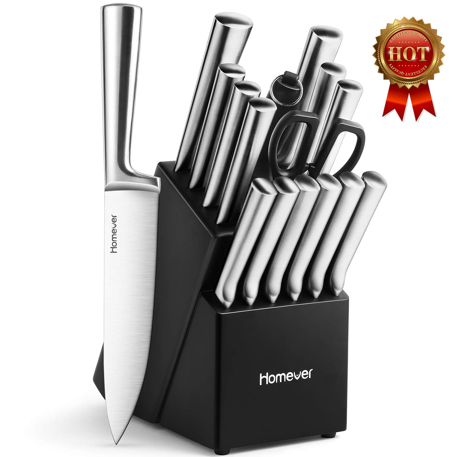 Homever 16-Piece Kitchen Knife Set