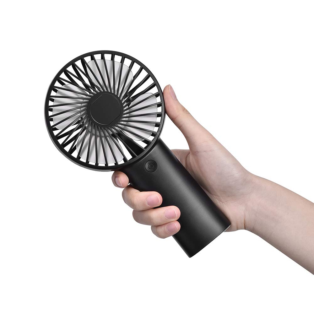 WEITOO Mini Handheld Fan Portable Electric with USB Rechargeable 4000mAh Battery Operated Hand Held Fan