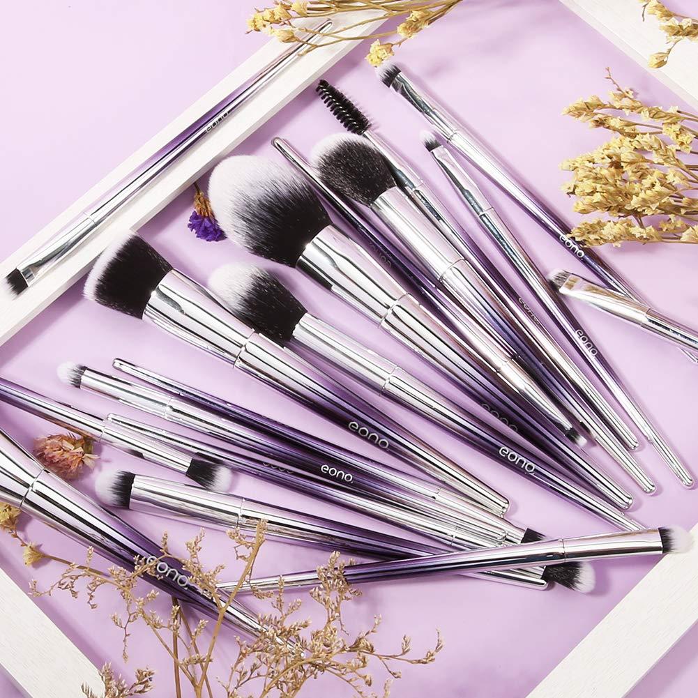 Eono Essentials Makeup Brushes Set 17Pcs