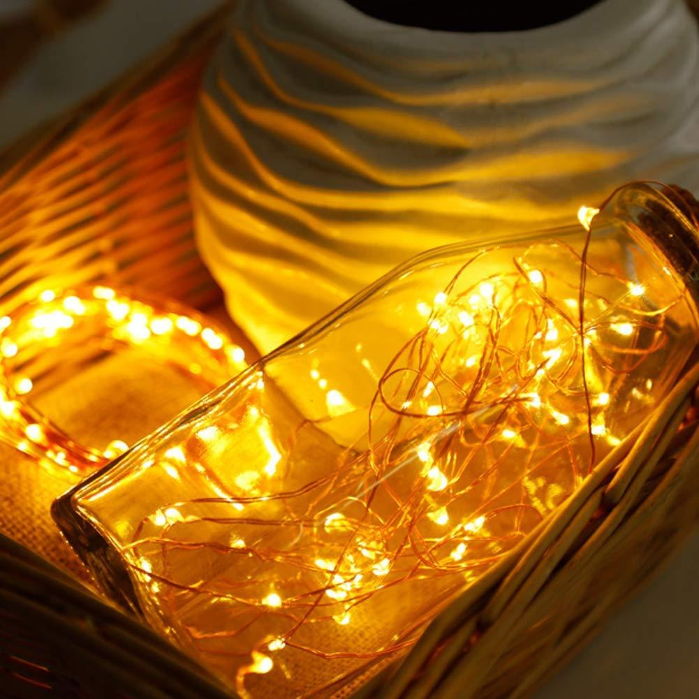 100 LED Dual Power Fairy Lights (Solar and Battery)