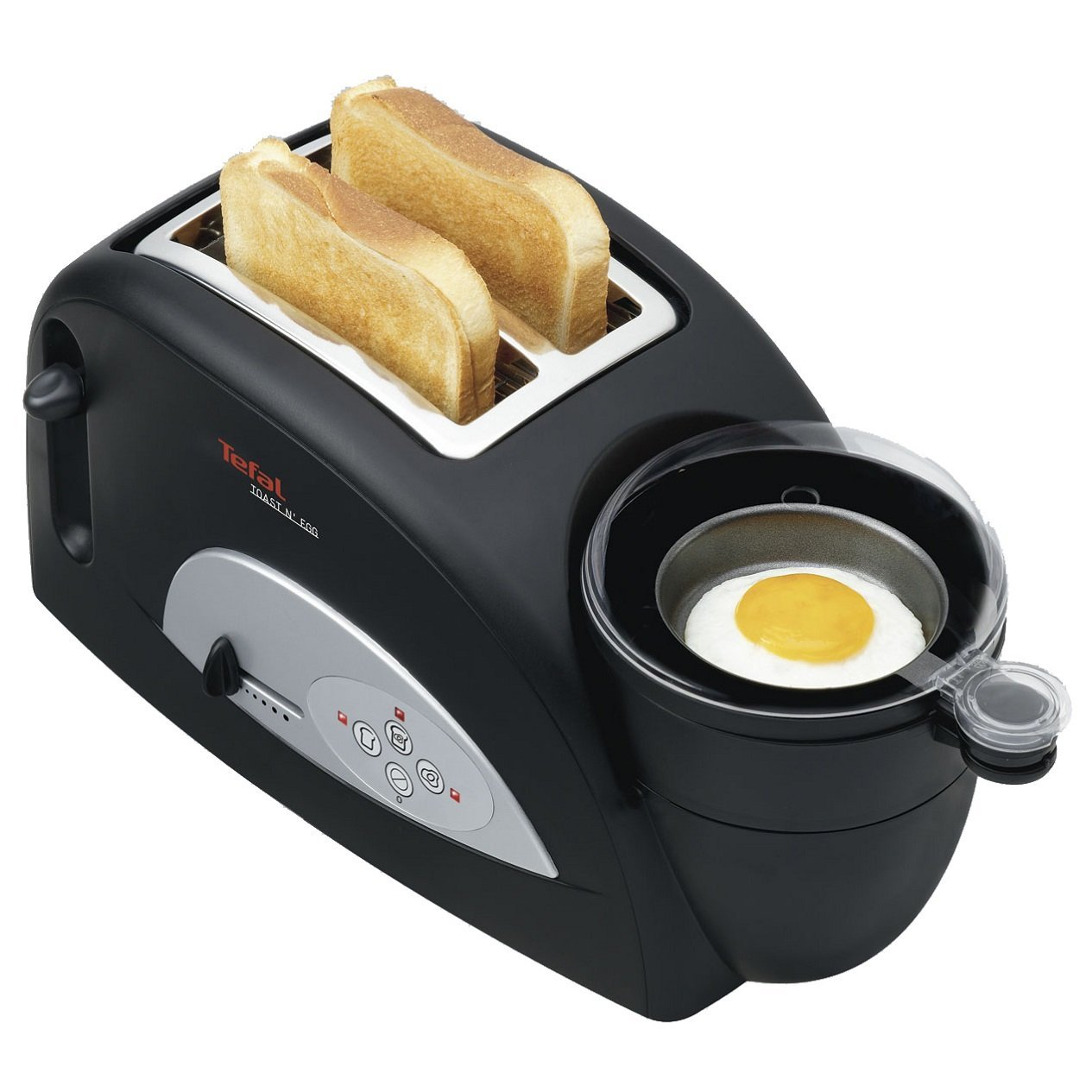 Tefal Toast and Egg Two Slice Toaster and Egg Maker, 1200 W