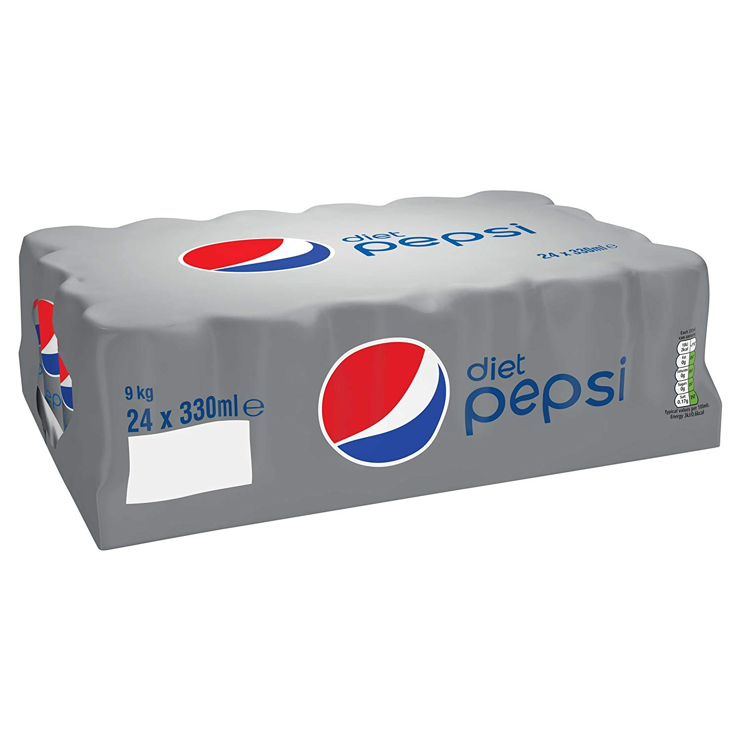 Diet Pepsi Cans, 24 x 330 ml