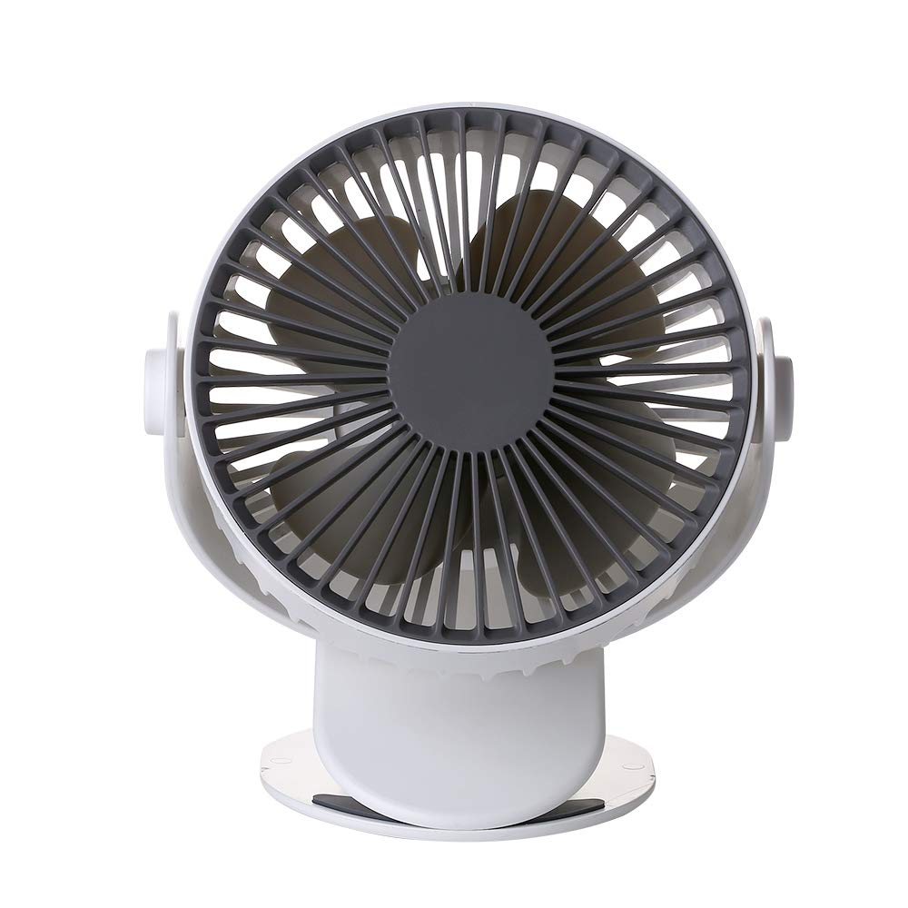 Moonday Clip on USB Fan | Mini Portable Air Cooling | 3 Speed with Time Control