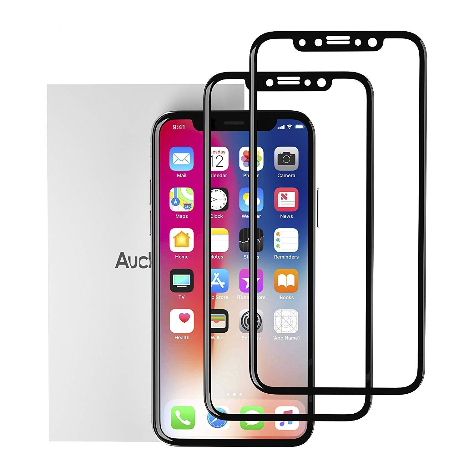iPhone X/Xs Screen Protector 5.8 inch [2 Pack]