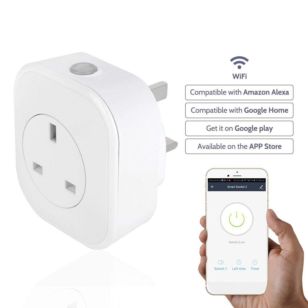 iarren Smart Home Mobile APP Remote Voice Multifunction WIFI Smart Socket Combination Switch & Outlet Plates