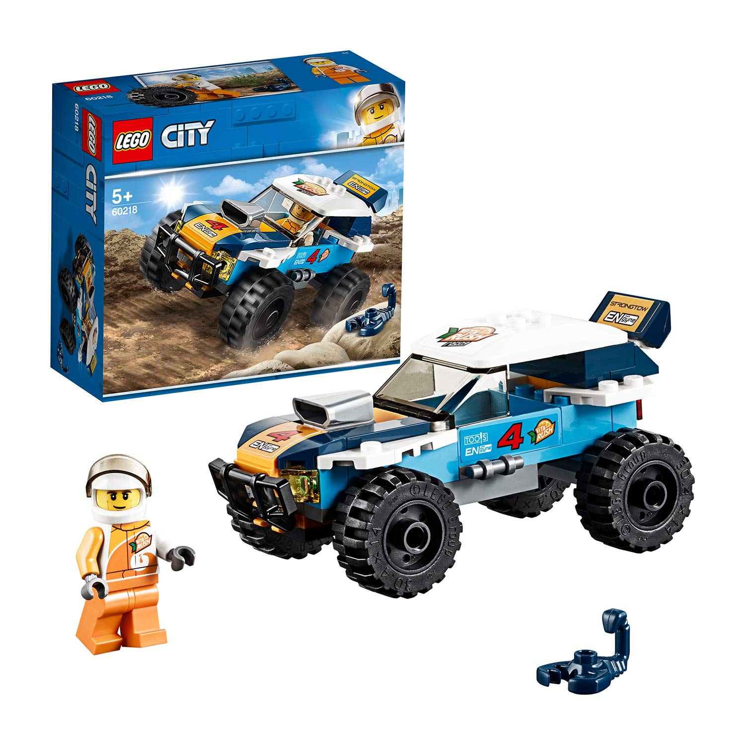 LEGO City Great Vehicles Desert Rally Racer Toy Car