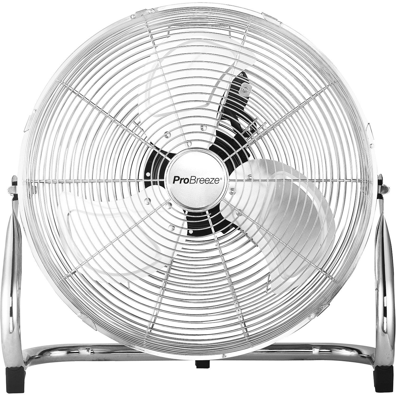 Pro Breeze Gym Floor Fan with 3 Speeds and Adjustable Fan Head
