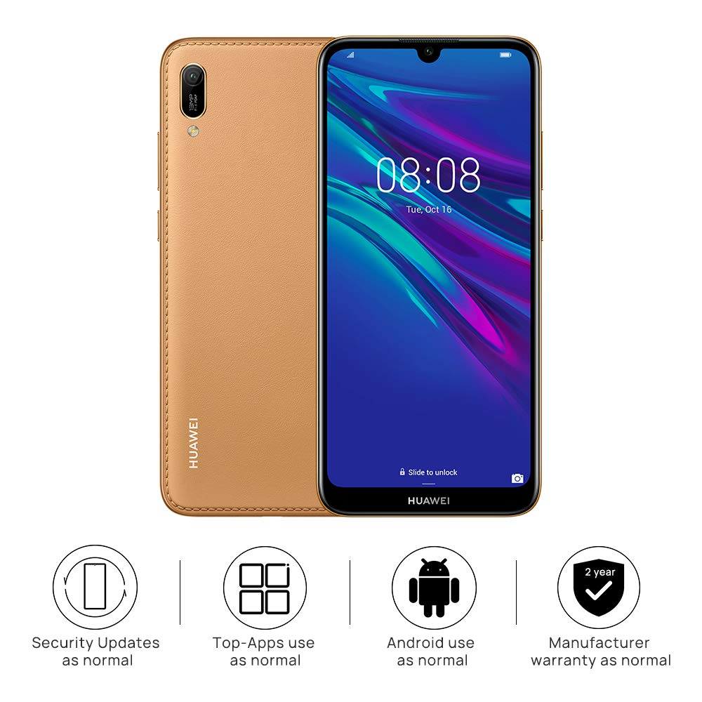 Huawei Y6 2019 32 GB 6.09 inch FullView Dewdrop Display Smartphone, UK Version