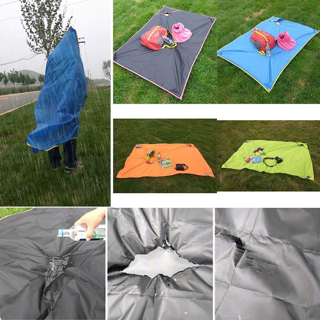 YAGAIU Picnic Mats Waterproof Outdoor Tents Lawn Mats Outing Picnic Cloth Camping