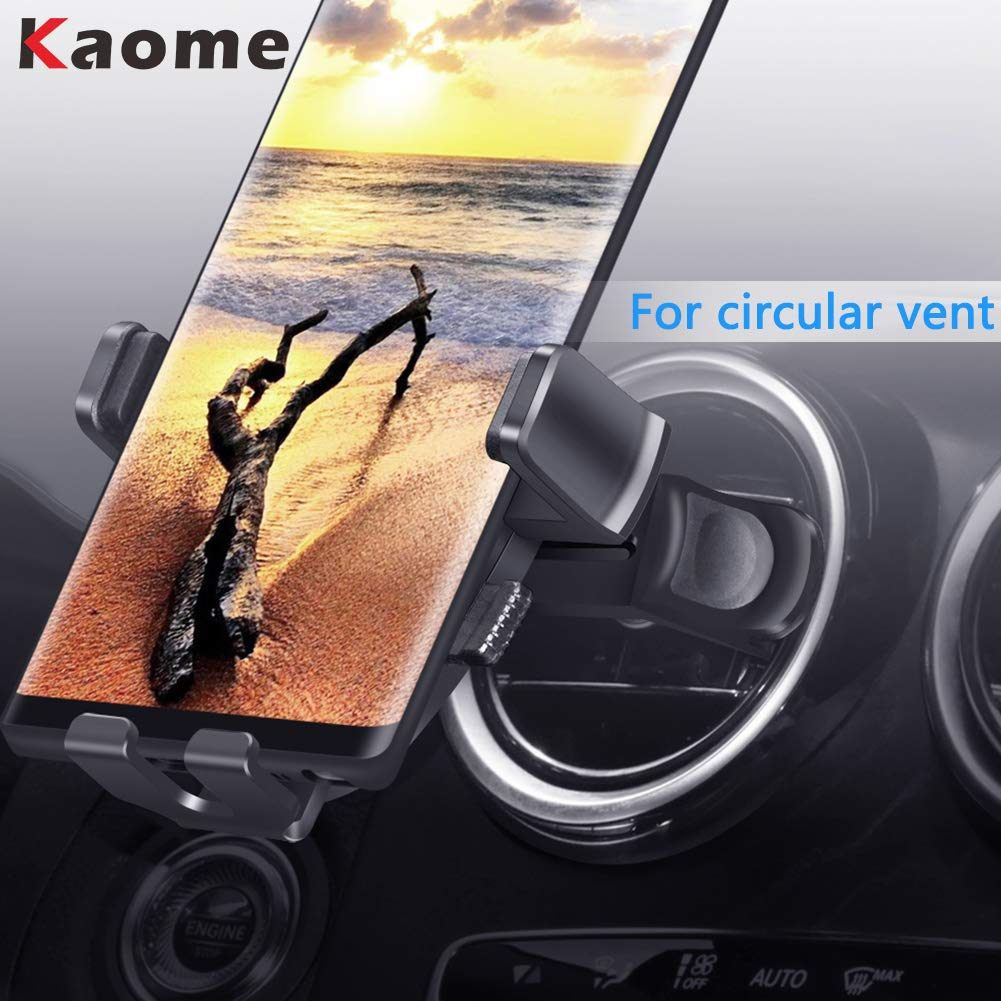 Kaome Car Phone Holder for Round Air Vent