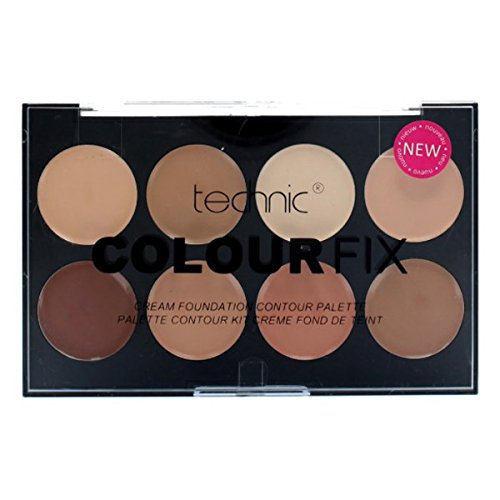 Technic Colour Fix  Cream Foundation Contour Palette Kit