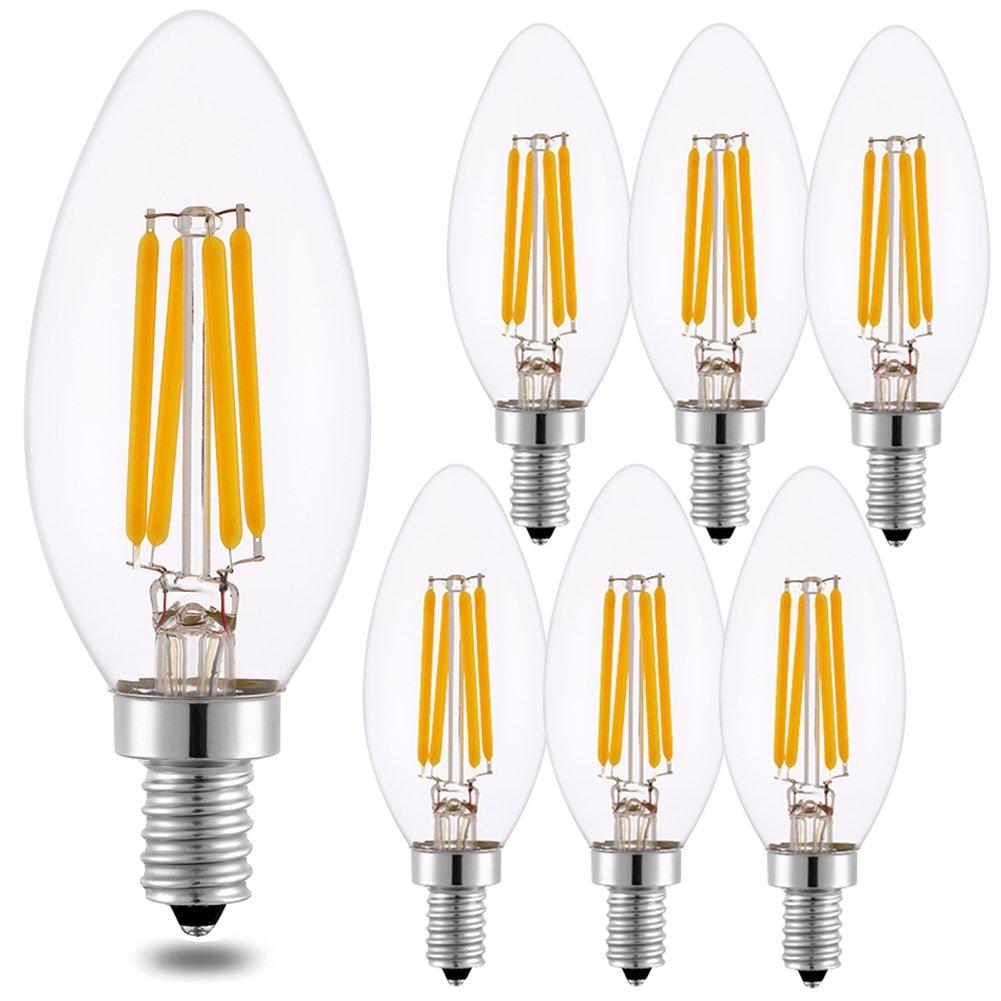LED Candle Bulbs E14 Small Edison Screw Candle Light Bulbs