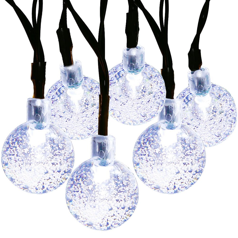 MagicLux Tech 30 LED Crystal Ball Solar Fairy Lights
