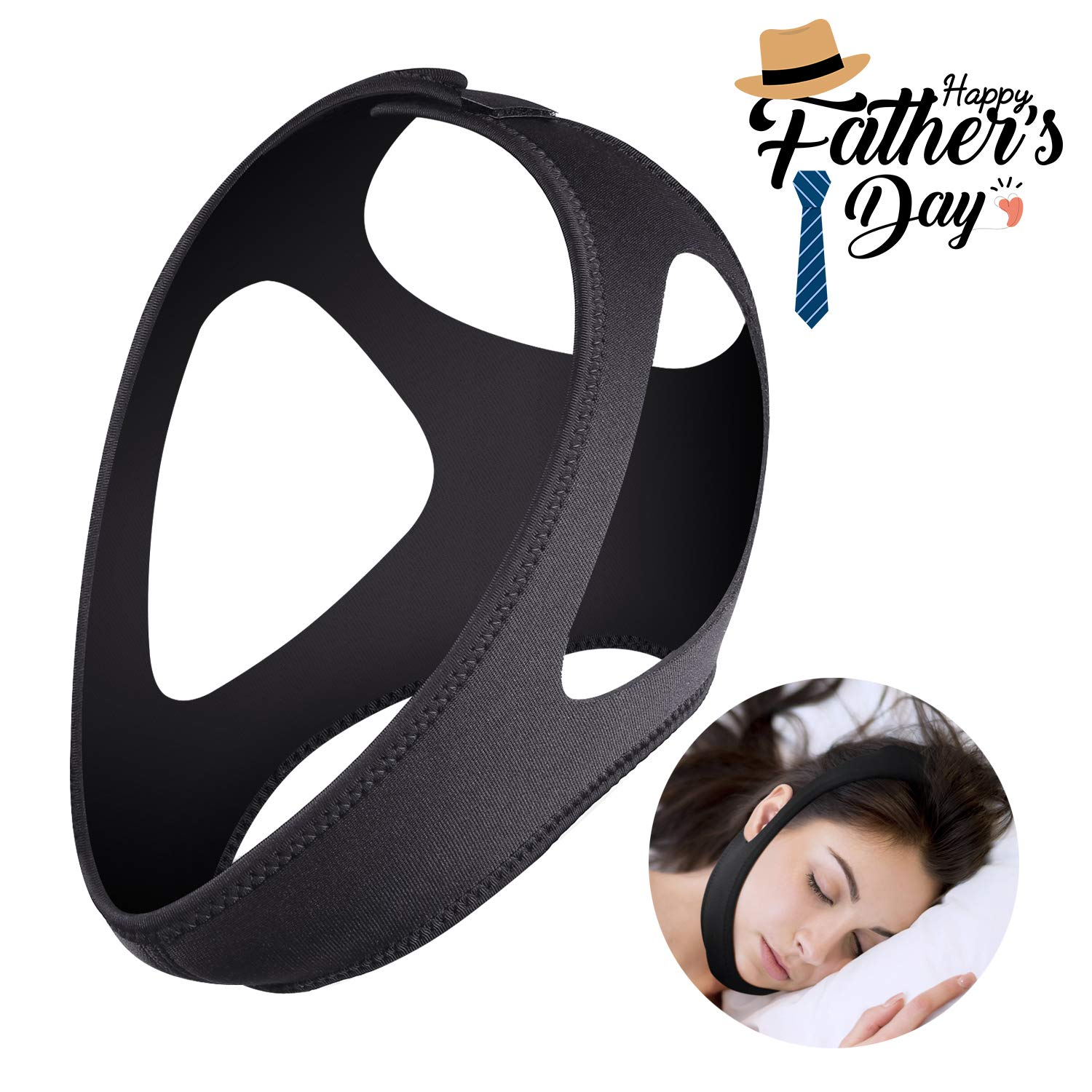 Chin Strap Anti Snoring Stop Snoring Snoring Reduction Relief Solution Snore Stopper Sleep Aid Devices